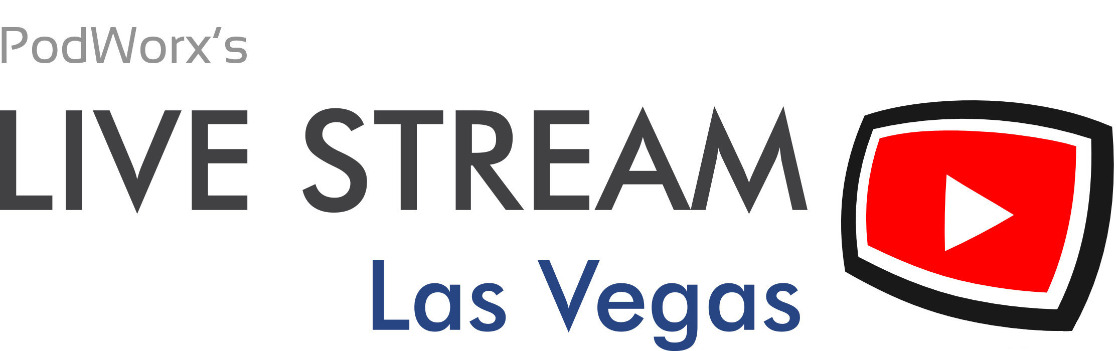 Live streaming video in las vegas live streaming video business learn about podworxs newest live stream service live stream las vegas stopboris Images